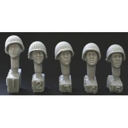 HOR-HUH04 1/35 5 heads. US...