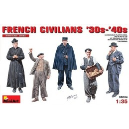 MA-38004 1/35 French...