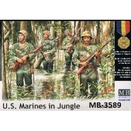 MB-3589 1/35 US Marines in...