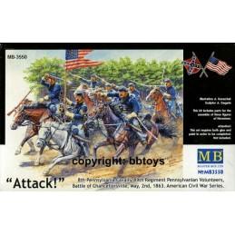 MB-3550 1/35 US Civil War -...