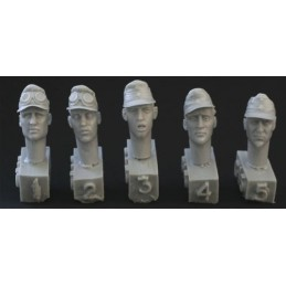 HOR-HGH15 1/35 5 heads. DAK...