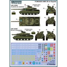 FC-35203 1/35 AMX-30 en España