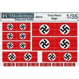 FC-35310 1/35 Banderas del...