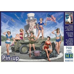 MB-35183 1/35 Pin-up