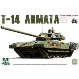 TKM-2029 TAKOM MODEL 2029 1/35 Russian Manin Main Battle Tank T-14 Armata