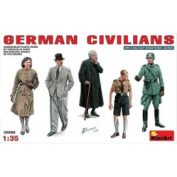 1/35 GERMAN CIVILIANS