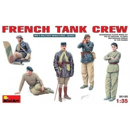 1/35 FRENCH TANK CREW
