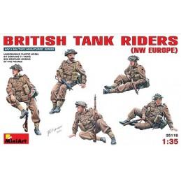 1/35 BRITISH TANK RIDERS