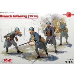 1/35 FRENCH INFANTRY 1916
