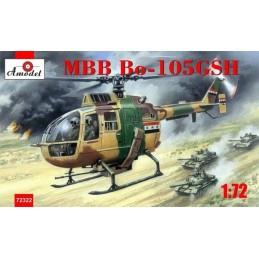 AM-72322 AMODEL 72322 1/72 MBB Bo-105 GSH. CALCAS ESPAÑOLAS