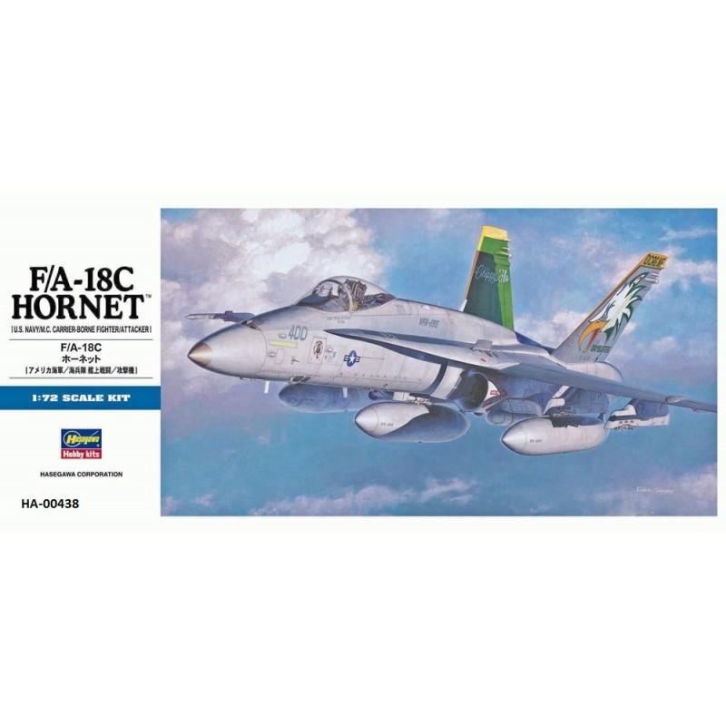 HA-00438 HASEGAWA 00438  1/72 F/A-18C HORNET