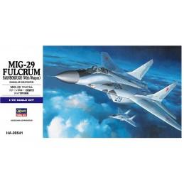 HA-00541 HASEGAWA 00541 1/72 MIKOYAN-29 FULCRUM FARNBOROUGH (With Weapon)