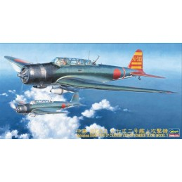 HA-09076 HASEGAWA 09076 1/48  NAKAJIMA B5N2 TYPE 97 CARRIER ATTACK BOMBER (KATE) MODEL 3