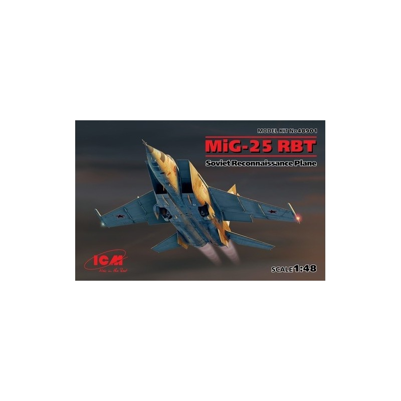 ICM 48901 1/48 MIG-25 RBT