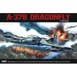 ACADEMY 12461 1/72 A-37B