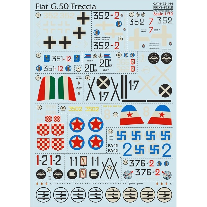 PRINTSCALE 72144 1/72 FIA