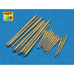 ABE-1:700 L-30 ABER 1/700 Set of Barrels for Prinz Eugen class crusies  203mm x 8; 105mm x 12