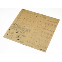 TAM-12689 Tamiya 12689 1/35 US WWII 10-in-1 Ration Cartons