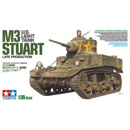 TAM-35360 Tamiya 35360 1/35 US Light Tank M3 Stuart - Late Production