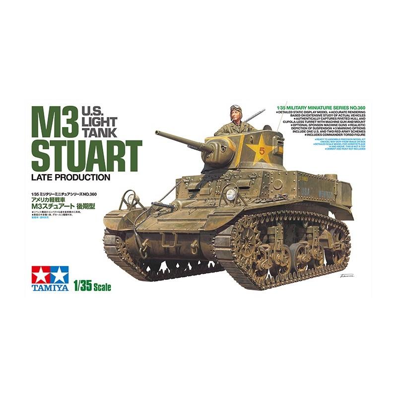 TAM-35360 Tamiya 35360 1/35 US Light Tank M3 Stuart - Late Production