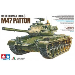 TAM-37028 Tamiya 37028 1/35 West German Tank M47 Patton