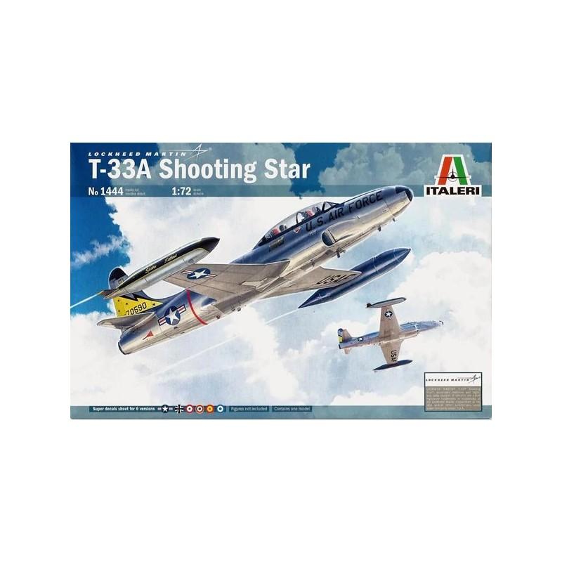 ITA-1444 Italeri 1444 1/72 T-33A Shooting Star. Calcas espanolas
