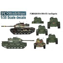 1/35 CALCAS M47 EN ESPAÑA