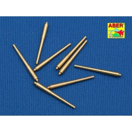 ABE-1:700 L-08 ABER 1:700 L-08 1/700 Set of 8 pcs 381 mm long barrels for ship Hood