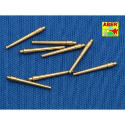 ABE-1:700 L-09 ABER 1:700 L-09 1/700 Set of 8 pcs 381 mm short  barrels for ship Hood