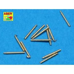 ABE-1:700 L-10 ABER 1:700 L-10 1/700 Set of 12 pcs 140 mm barrels for ship Hood
