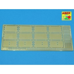 ABE-35A008 aber 35A008 1/35 Side skirts for Panther Ausf.A