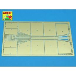 ABE-35A022 ABER 35A022 1/35 Side skirts for Sturmgeschutz III (Early model)