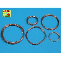 ABE-ADZ-1  Wires set (diameter 0,2 / 0,3 / 0,4 / 0,5 / 0,6 mm, length 1m each)