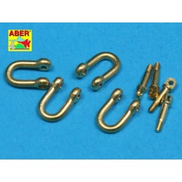ABE-R-13 ABER R-13  1/35  Late model shackle for Pz.Kpfw.VI Tiger Ausf B