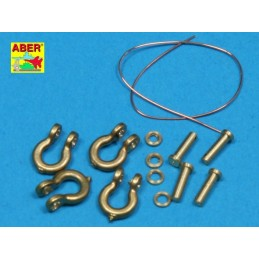 ABE-R-18 ABER R-18 1/35 Shackle for russian tanks KV-1KV-2 x4 pcs