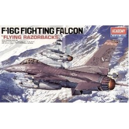 ACA-12204 ACADEMY 12204 1/48 F-16C FLYING RAZORBACKS