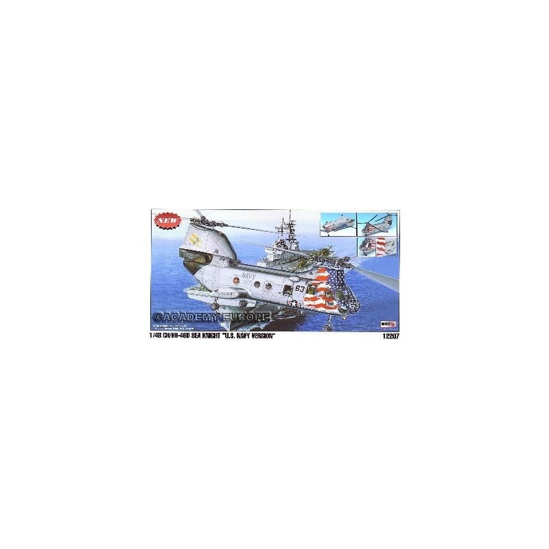 ACA-12207 ACADEMY 12207 1/48 CH/HH-46 D SEA KNIGHT