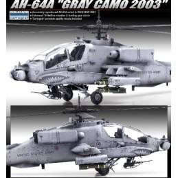 ACA-12239 ACADEMY 12239 1/48 AH-64A GRAY CAMO 2003