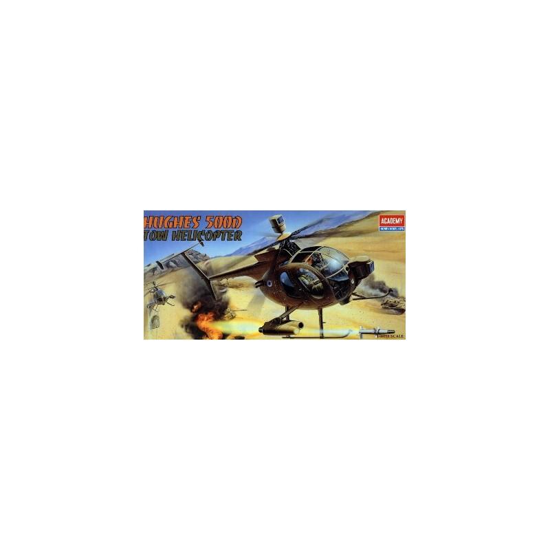 ACA-12250  ACADEMY 12250 1/48 HUGHES 500D-TOW (1644)