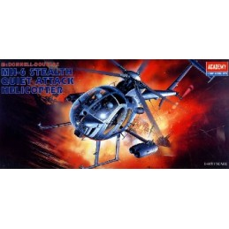 ACA-12260 1/48 MH-6 STEALTH HELICOPTER (1691)