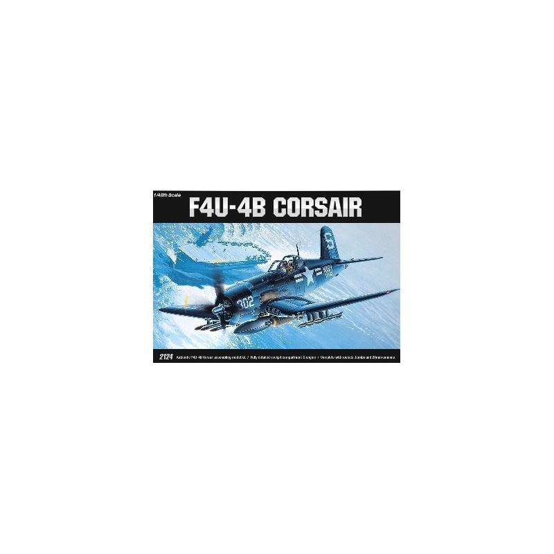 ACA-12267  ACADEMY 12267 1/48 F4U-4B CORSAIR (2124)