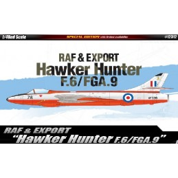 ACA-12312  ACADEMY 12312 1/48 F.6/FGA.9 HAWKER HUNTER RAF  EXPORT