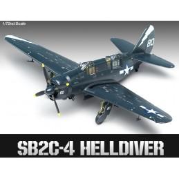 ACA-12406 ACADEMY 12406 1/72 SB2C-4 HELLDIVER