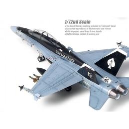 ACA-12422 ACADEMY 12422 1/72 F/A-18D HORNET US MARINES