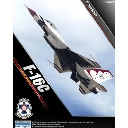ACA-12429 ACADEMY 12429 1/72 F-16C THUNDERBIRDS