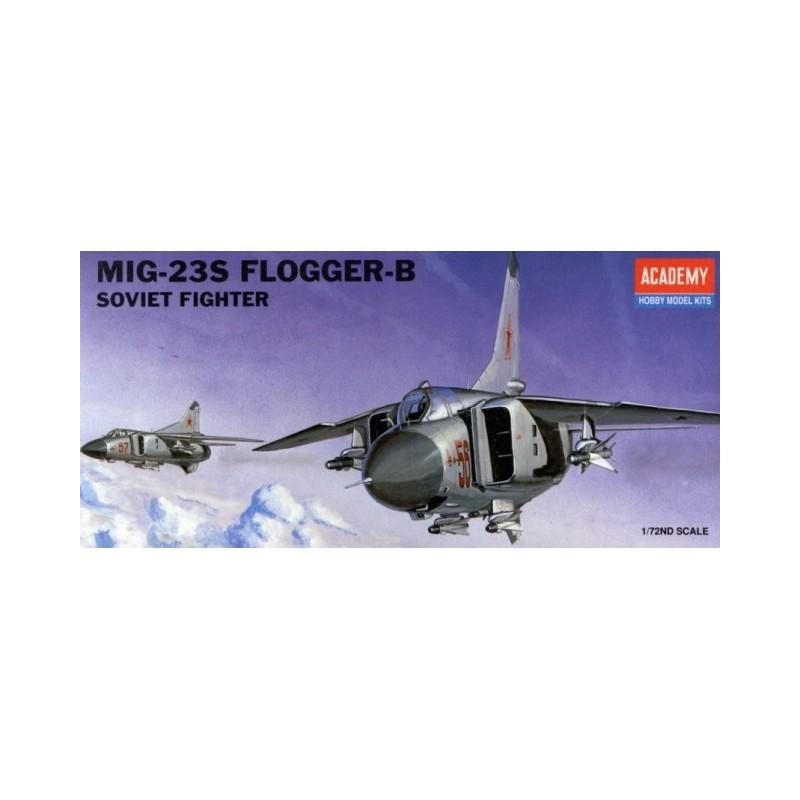 ACA-12445 ACADEMY 12445 1/72 MIG-23S FLOGGER B (1621)