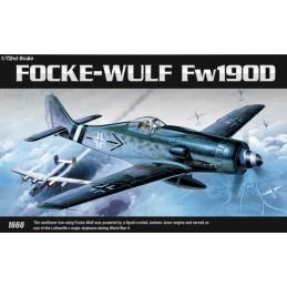ACA-12458 academy 12458 1/72 FOCKE-WULF FW190D (1660)