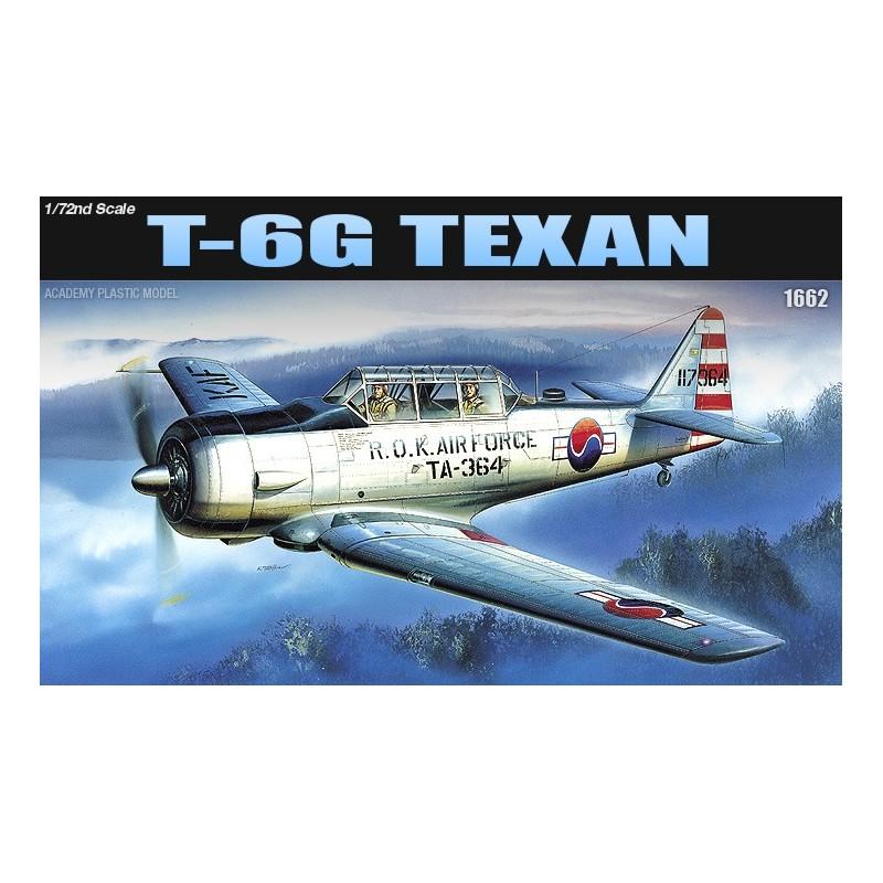 ACA-12460 ACADEMY 12460 1/72 ACADEMY 12460 T-6 TEXAN (1662)
