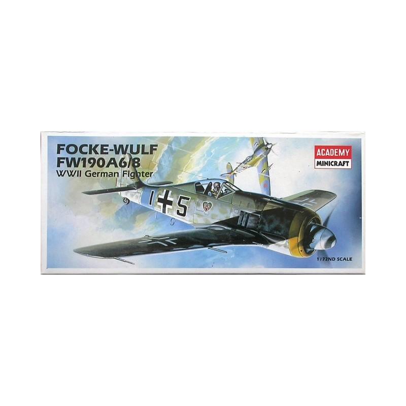 ACA-12480 ACADEMY 12480 1/72 FW190A 6/8 FOCKE WULF (12480)