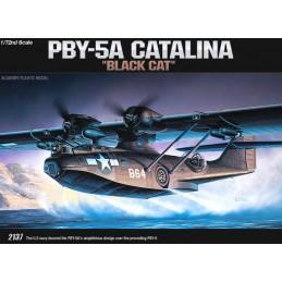 ACA-12487 ACADEMY 12487 1/72 PBY-5 BLACK CATALINA (2137)